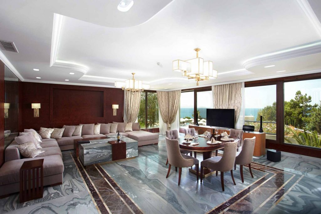 Moscow suite livingroom