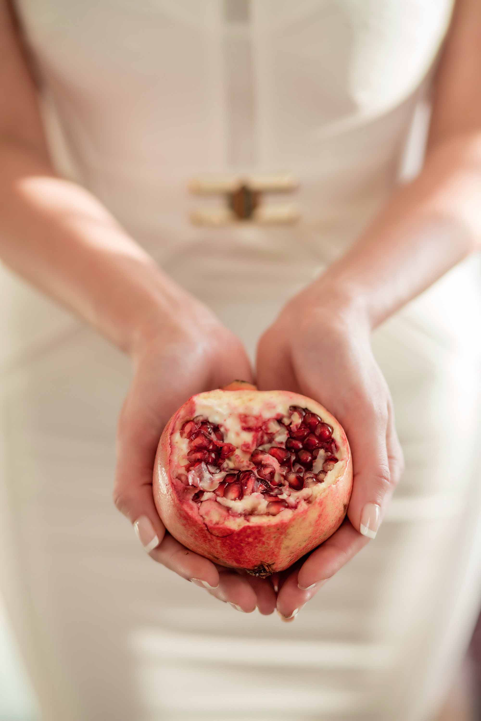 The beauty of pomegranate